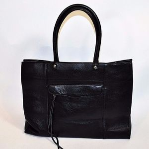 Rebecca Minkoff MAB Large Tote Black Pebbled Lthr